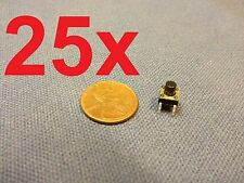 You get 25 pieces of  6x6x7mm   Tactile Push Button Switch 25pcs 25x c1