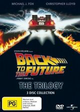 Back To The Future - The Trilogy 1,2,3 (DVD, 2008, 3-Disc Set) region 4 NEW NEW