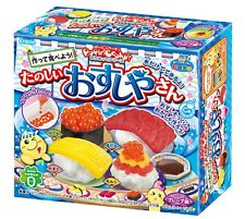 UK Seller Japanese Sweets Kracie Sushi Popin Cookin Kit DIY Make Your Own Candy