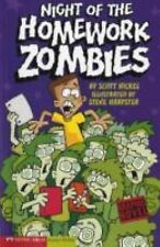Night of the Homework Zombies by Scott Nickel (2006, Picture Book)
