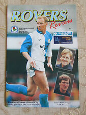The Official Match Day Publication Of  Blackburn Rovers & Bristol City 1992