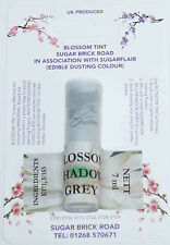 Sugarflair Shadow Grey Blossom Tint Powder, 7ml, Edible Food Colour Dust