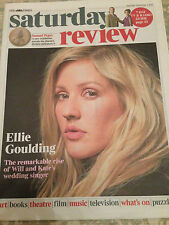 ELLIE GOULDING PHOTO COVER INTERVIEW UK TIMES REVIEW NOVEMBER 2015