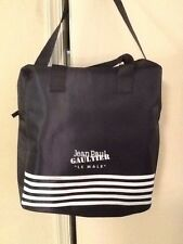 "NIP Jean Paul Gaultier Le Male Navy Blue ""sac"" Weekend Bag"