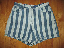 New Kate Spade Saturday Size 4 High Waisted Stripe Denim Jean Festival Shorts