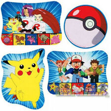 POKEMON Pikachu CUTOUT DECORATIONS (4) ~ Birthday Party Supplies Paper Room