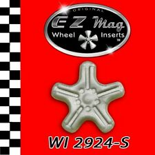 WI 2924-S Slotted 5-Spoke Euro Style EZ Mag Wheel Inserts Fits Strombecker Cars