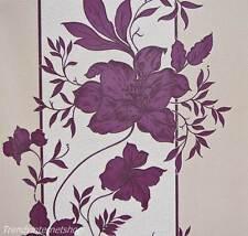 Tapete RASCH 782219 Blumen Floral Lila Beere