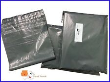 "12x16"" LARGE STRONG GREY POSTAL SHOEBOX MAILING BAGS  [PACK OF 10] *FREE P&P***"