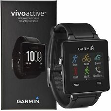 Garmin VivoActive GPS-Enabled Active Fitness iPhone/Android Smartwatch - Black