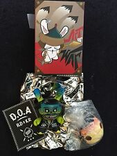 Kidrobot Art of War Series  I l love dust Dunny