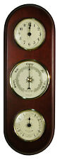 """13"""" TIME/BAROMETER/TIDE BY WEST & CO."""