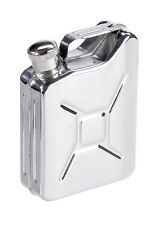 Jerry Can Hip Flask 5oz Stainless Steel Liquor Whisky Alcoho Bottle Cap