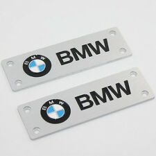 Fit For BMW All Models  Car Logo Floor Mat Carpet Emblem Badge Pedals