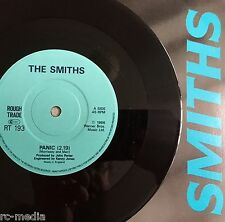 "The Smiths - Panic - Rare UK Solid Centre 7"" + Picture Sleeve (Vinyl Record)"
