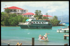 203008 Ferry From St Thomas In Cruz Bay St John A4 Photo Print