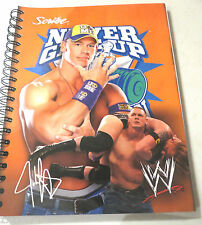 NEW WWE JOHN CENA SCHOOL NOTEBOOK 100 SHEETS WITH MINI POSTER