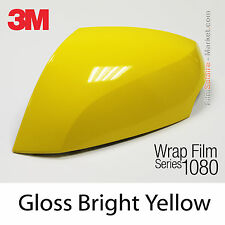 20x30cm FILM Gloss Bright Yellow 3M 1080 G15 Vinyle COVERING Car Wrapping