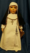 "Kingstate The Prestige Collection 17"" Sister Agnes hand-painted Nun Doll"