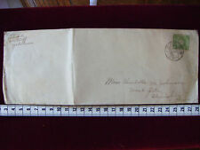 JAPAN 1916 COVER WITH STAMP FROM YOKOHAMA TO SHANGHAI CHINA VF RARE