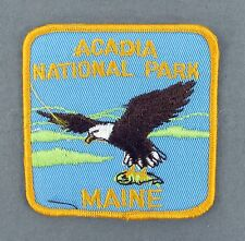 United States of America Maine ME Acadia National Park Travel Souvenir Patch