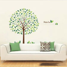 Flourishing Green Tree Vinyl Wall Sticker Art DIY Nursery Baby Child Room Decal