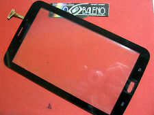 "GLS VETRO+TOUCH SCREEN per SAMSUNG GALAXY TAB 3 SM-T211 P3200 7"" DISPLAY 3G NERO"