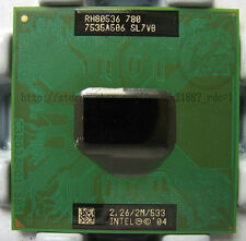 Intel Pentium M 780 Processor 2.26 2.26ghz 2M FSB 533 MHz SL7VB chipset