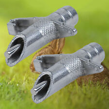 10PCS NIPPLE WATERER DRINKERS WATER RABBIT GUINEA PIG FERRET RAT MOUSE FEEDER RD