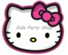 Hello Kitty Star Party - 8 Shaped Plates Birthday - FREE POST IN UK