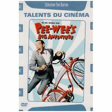 Pee-wee's Big Adventure (1985) Tim Burton * Region 2 (UK) DVD * New