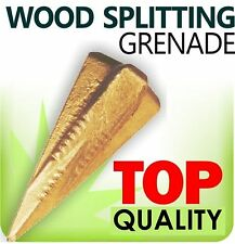 Wood Log Grenade Bomb Splitting/Splitter Axe Wedge Maul Saw