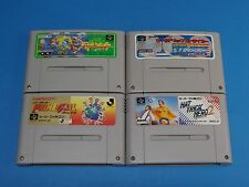 #316 SOCCER SET Lot of 4 SUPER FAMICOM  Japanese Used