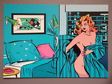 R&L Modern Postcard: Adult Comic Art , Gentiane, Albert Lingot 88 Naked Lady
