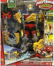 Power Rangers Dino Super Charge - Titano Charge Megazord Multiple Ways to Play