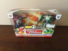 2010 Transformers The Ultimate Battle Optimus Prime & Megatron New in Box