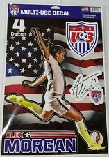 "Alex Morgan Multi Use Decals Stickers Cling 11"" x 17"" US Women's National Soccer"