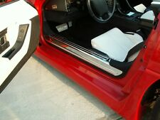 C4 Corvette 1988-1996 Doorsills Polished Stainless - 2Pc