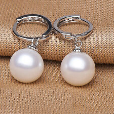 Hypoallergenic Earrings Hot Sale Freshwater Pearl Earrings Silver Plated Ring