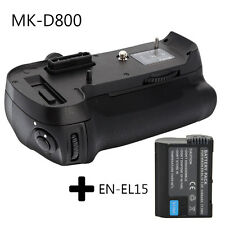 Meike MK-D800 MB-D12 Battery Grip for Nikon D800 D810 D800E +1x EN-EL15