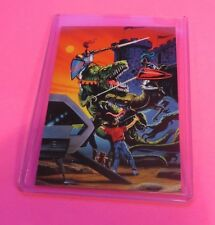 1994 LEE MACLEOD ART COLLECTIBLE TRADING CARD #24 THE DINO KNIGHTS (1993)