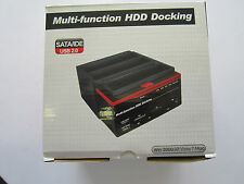 Multifunction External HDD Docking Station Dock for Data Transfer Backup