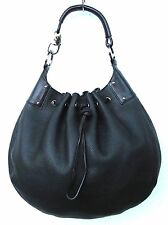 GUCCI PEBBLE LEATHER DRAWSTRING HOBO SHOULDER BAG HANDBAG