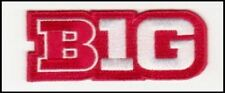 OHIO STATE  BIG TEN LOGO PATCH RED JERSEY NCAA COLLEGE FOOTBALL  BASKETBALL