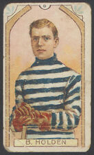 1911-12 C55 IMPERIAL TOBACCO HOCKEY #3 BARNEY HOLDEN STANLEY CUP QUEBEC BULLDOGS