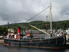 VIC. Clyde Puffer. Schottisches Motorschiff. Vereinigtes Königreich 1942