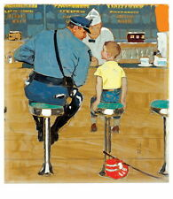 Norman Rockwell The Runaway Giclee Canvas Print Paintings Poster Reproduction Co