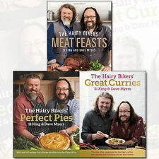 Hairy Bikers Recipes Collection Meat Feasts,Perfect Pies,Great Curries 3 BookSet