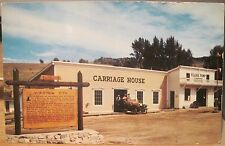 Montana Postcard VIRGINIA CITY Carriage House Historical Marker Pump Hse O'Brien