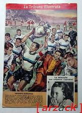 LA TRIBUNA ILLUSTRATA N 24 Inter triofo San Siro Coppa Campioni Benfica 13/6/65